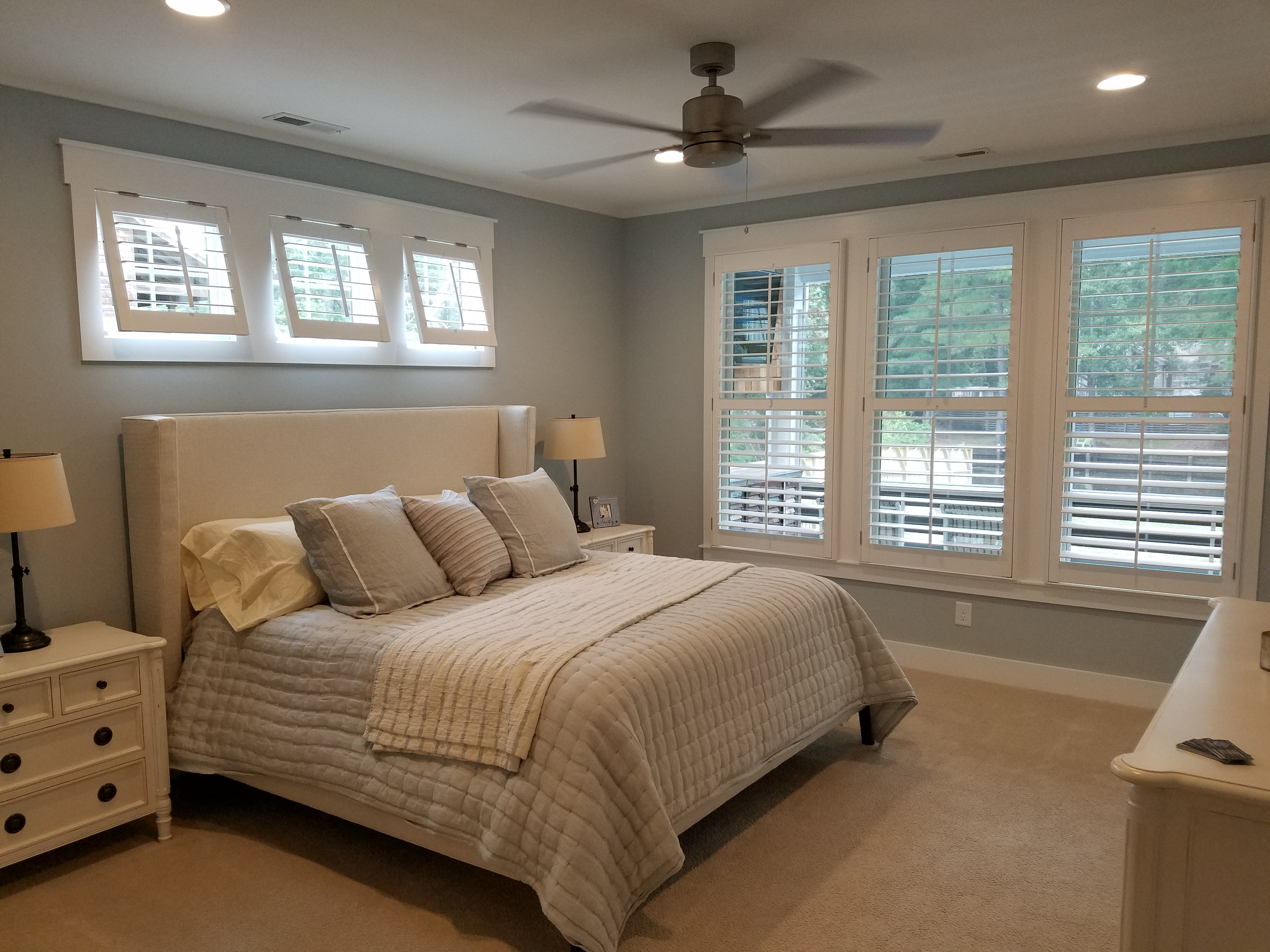 Plantation Shutter Bedroom | FullTilt